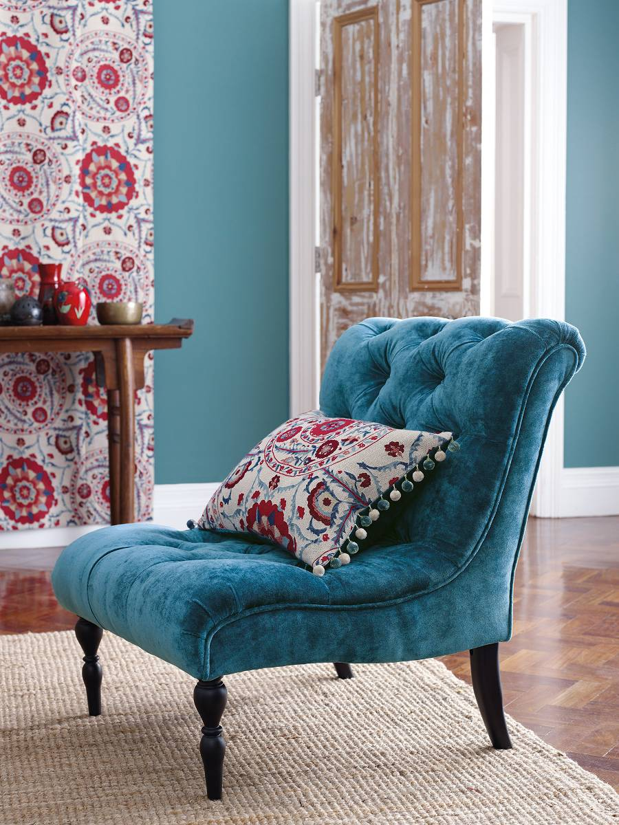 Sandberg-Sojourn-Weaves-Velvet-Chair-Focus